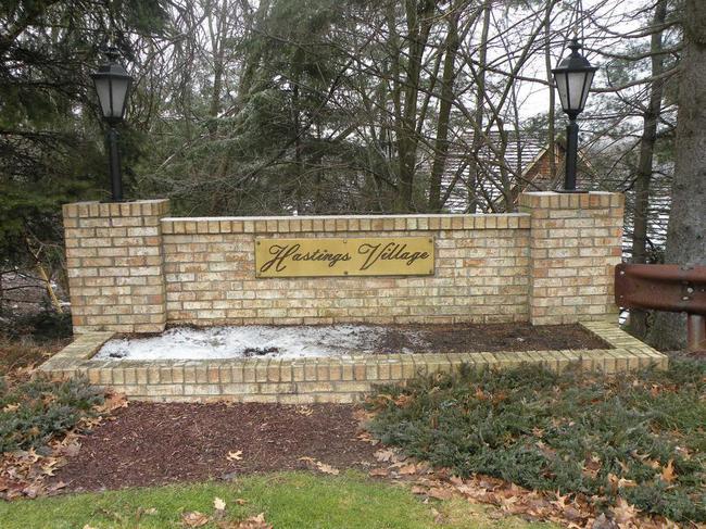 Hastings Village neighborhood in St. Clair, Pa